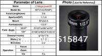 "CCTV объектив cctv 3,6 1/2.5 ""m12 2.0 3.6mm"