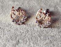 Серьги-гвоздики Lucky Clover Jewelry 15$ TD1093