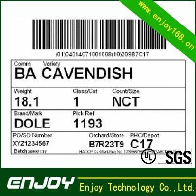 Código de barras etiquetas de número de série para a embalagem de produtos de série da etiqueta de código de barras etiqueta de código de barras