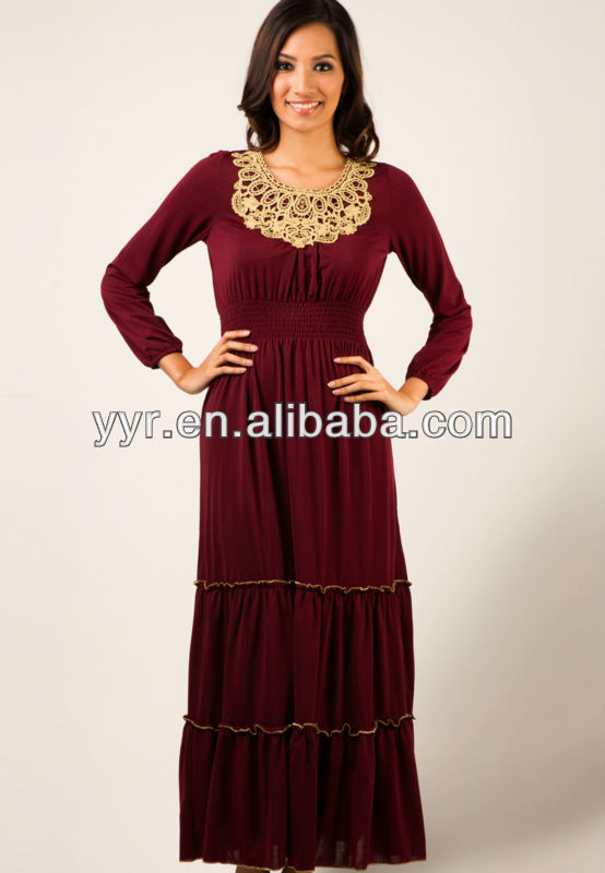 Manufacturer 2013 new design muslim abaya