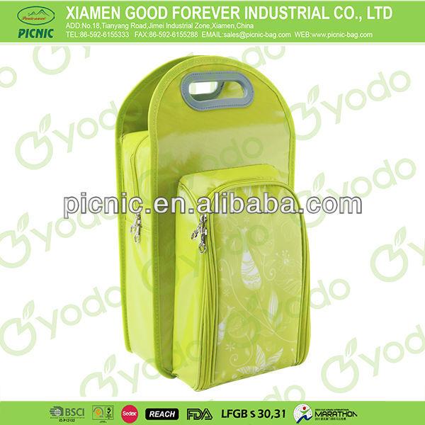 2-Person Bottle Cooler Bag