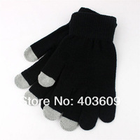 Touch Screen Gloves for iPhone, iPad and All Touchscreen Devices, Smartphone Gloves (Black)