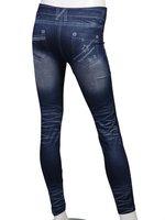 Женские джинсовые леггинсы SKINNY JEAN LOOK TIGHT STRETCHY LEGGINGS PANTS W3163