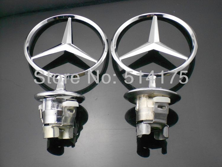 Mercedes Benz 210 3D LOGO Bonnet Hood Star badge emblem free shipping 1pcs (9)
