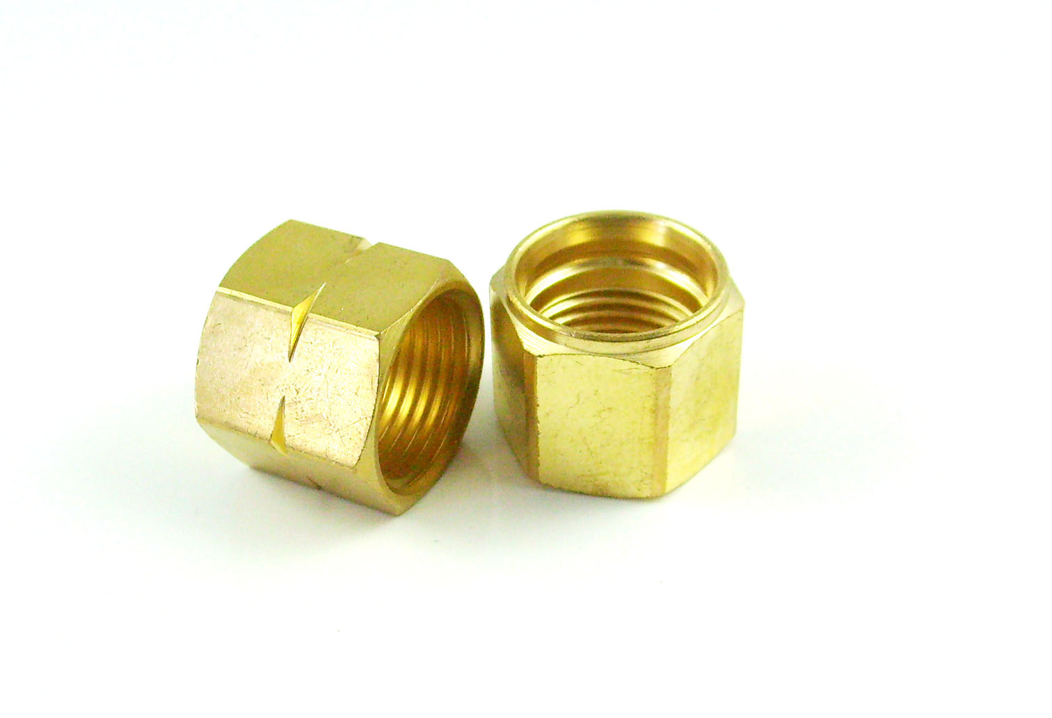 chrome plated precision brass joint component