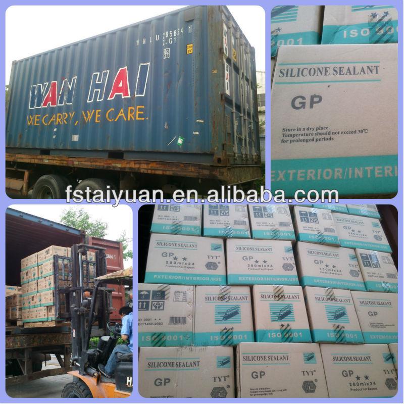 Non-toxic Glass Silicone Sealant TYT-119