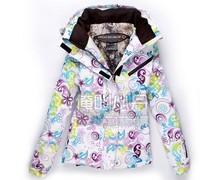 Женская куртка для лыжного спорта two-color coat jacket or pants Women monoboard winter jacket coat
