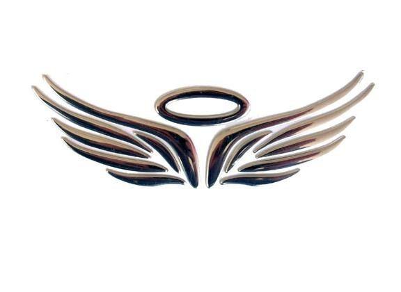 Product Description  Eagle Wings Car Logo