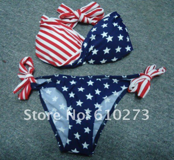 Hot Sale Usa Flag Bikini New Sexy Modern American