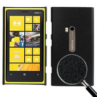 Чехол для для мобильных телефонов Black Pebble Texture Plastic Protective Case for Nokia Lumia 920