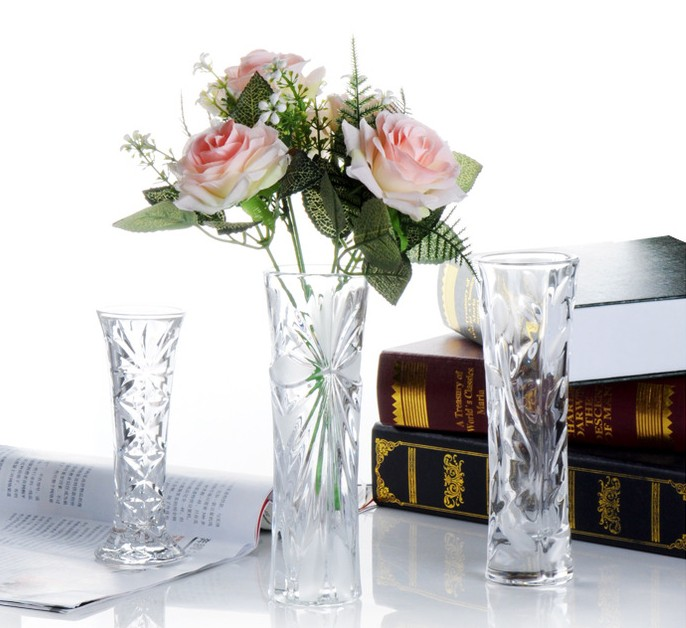 2015 Crystal Vases For Wedding Centerpieces