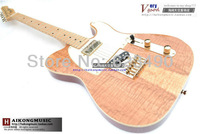 Гитара TELE solid wood Telecaster guitar, electric guitar gold hardware OEM inventory
