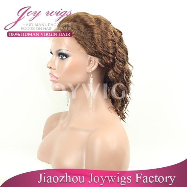 wholesale free shipping virgin hair white people wigs halloween wigs