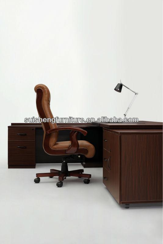 Melamina moderno mobiliario de oficina, escritorio ejecutivo ...