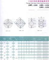 Линейный подшипник 10pcs Lengthened Square Flange linear Motion bearings LMK25LUU 25mm Linear round shaft rail CNC XYZ