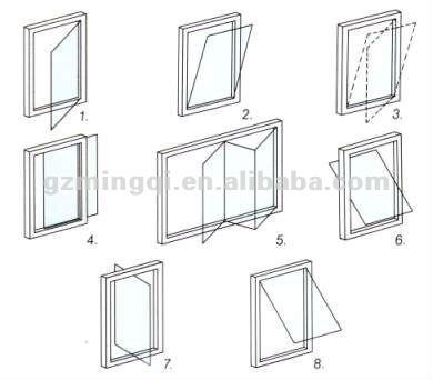 Aluminum Pivot Window Buy WindowCenter
