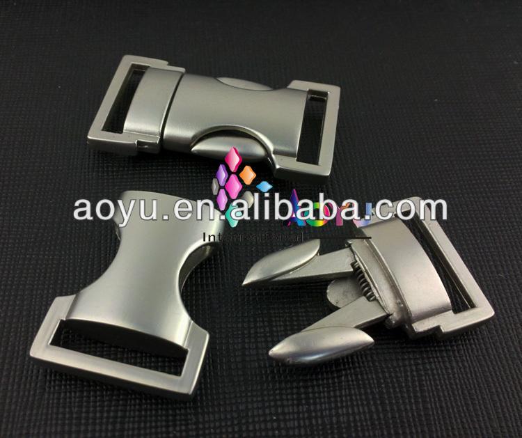 2014 Curved Metal lanyard Special buckles,Side Release Buckles