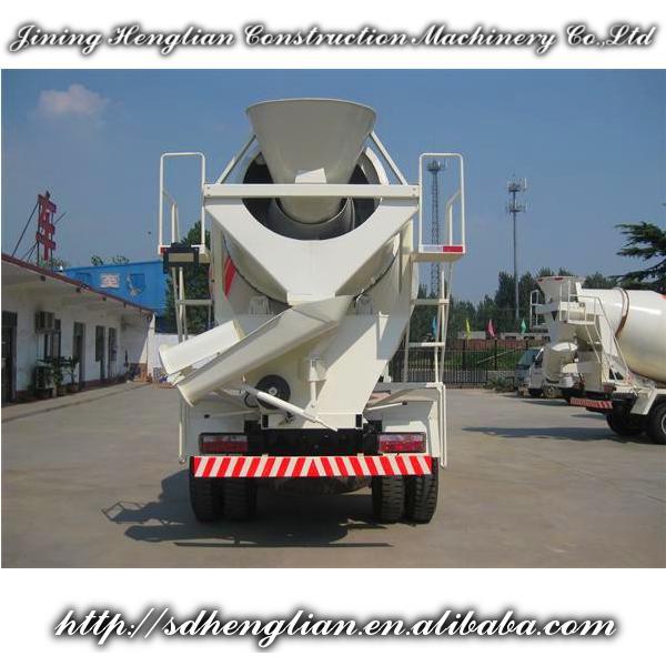 Henglian supply small concrete mixer trucks / agitating lorry