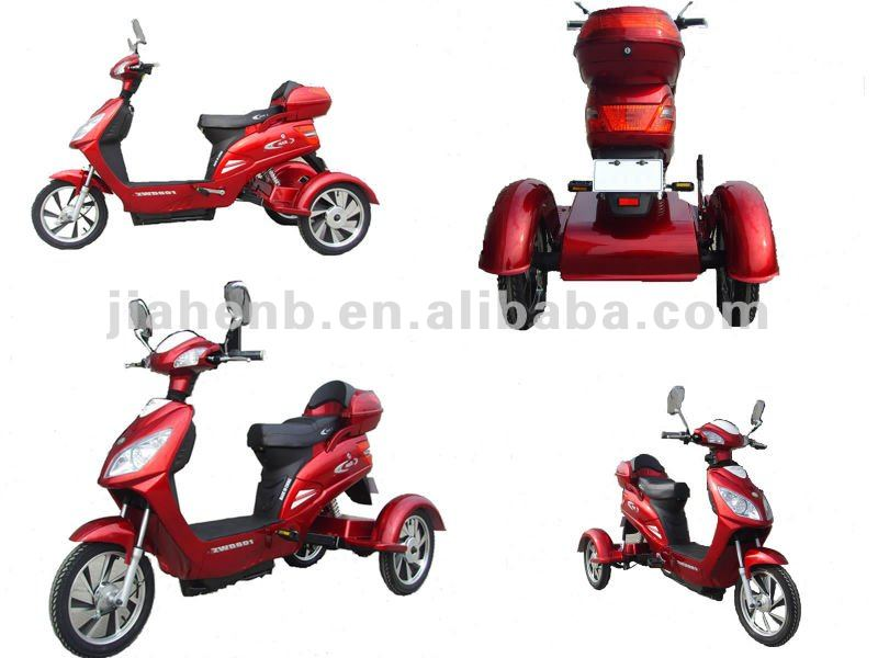 2012 good selling high speed electric scooter with 3 wheels