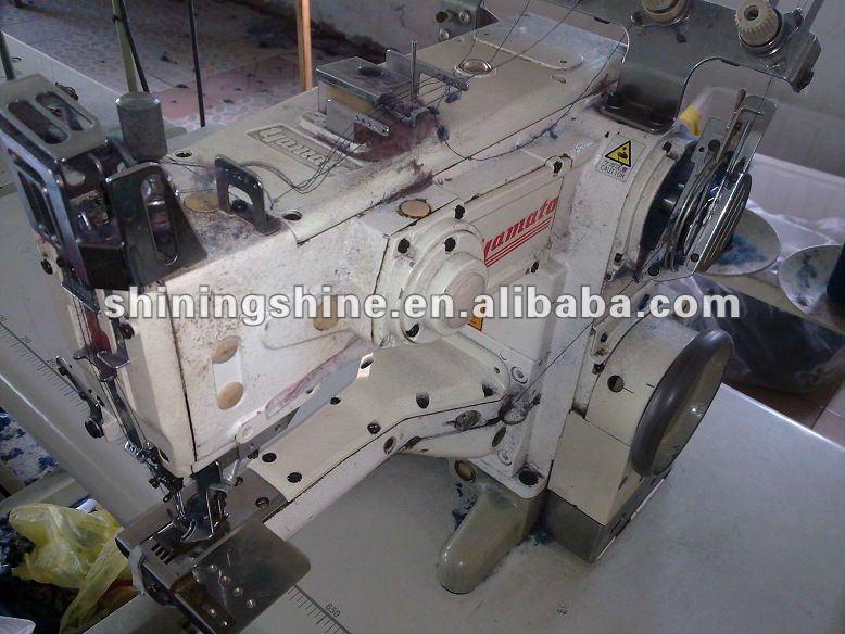 Usado japão yamato máquina de costura interlock