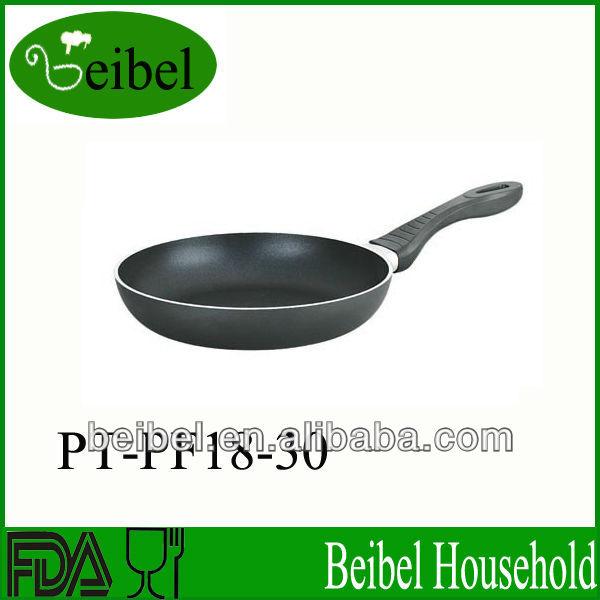 Aluminum non-stick carbon steel pans