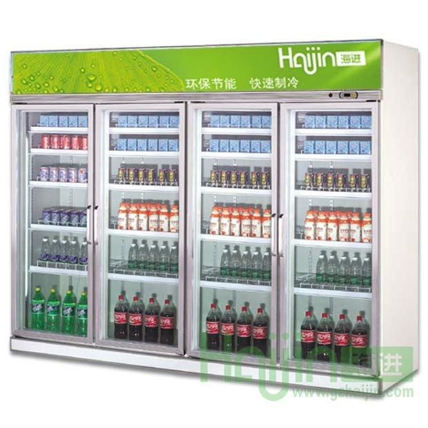 Холодильник со стеклянной дверью фото