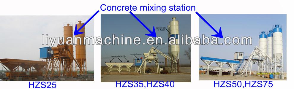 hzs25 mélange sec centrale à béton lot