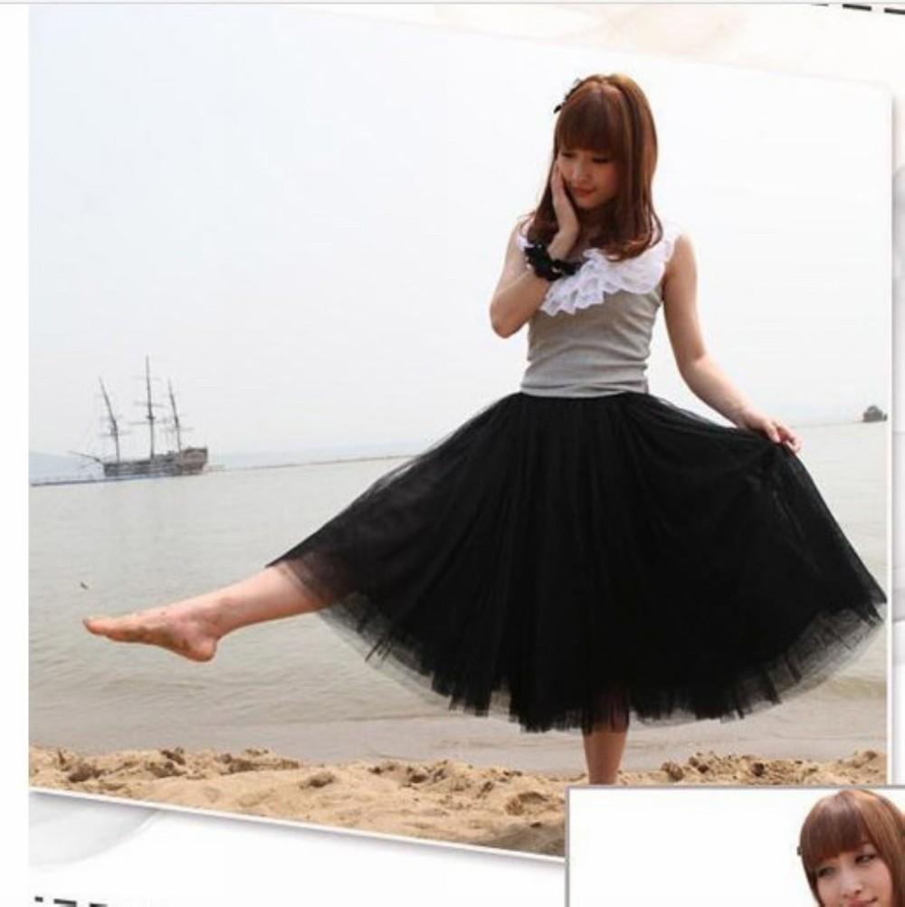 Принцесса в прозрачной юбке 18 фотография