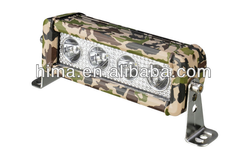 60w 12inch Camo Led Light Bar 250cc off road buggy