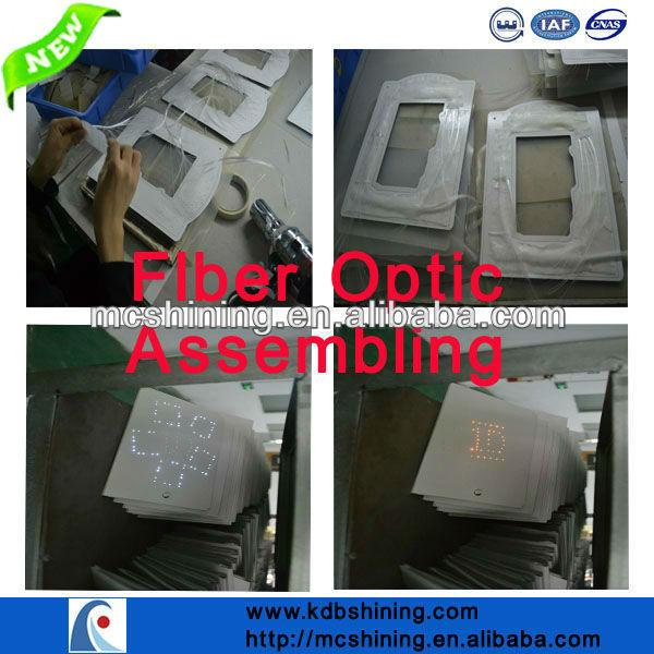 Fiber Optic LED Blinking Paper Packaging Bags