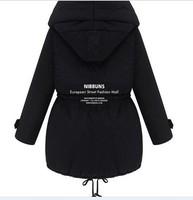 новые бренды женщины Слим плюс толстые бархатную куртку / теплая одежда / случайные свитер / британский моды ветровка + freeshinpping