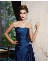 Платье для матери невесты A-line Off-shoulder Brooch Taffeta Full-length New Style Mother of the bride Dresses