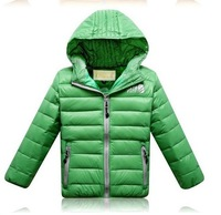 Детская одежда для мальчиков Authentic girls boys down jacket small cuhk TongBaoBao winter coat thickening tank postage