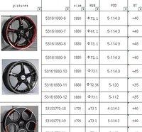 Диски и Аксессуары для авто Tour Run 18 x 8' 67,1 ET48 PCD 5/114,3