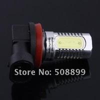 Источник света для авто Desheng H11 LED High Power Bright White Foglight Car Head light Bulb 6W Energy Saving 12V 2pcs/lot +Dropshipping