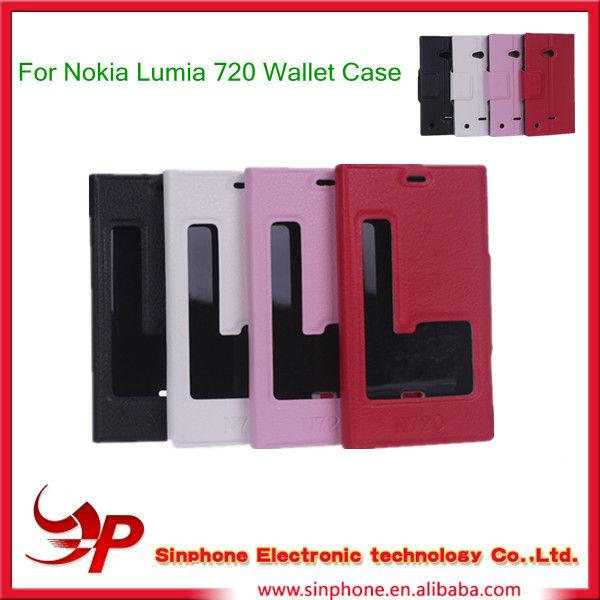 Flip Cover For Nokia Lumia 720 Lumia 720 Flip Hard Cover
