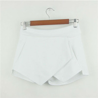 Женские шорты Hot! 2013 New Asymmetrical Geometric Design Slim Fit casual Shorts Hot Pants 0318