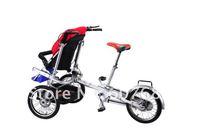 Детские коляски складные колеса велосипеда из Аль сплава для одного два места