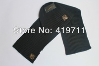 star style hat + scarf  knit weave men & women autumn and winter cap +scarf warm winter hats+scarf woolen hat  wholesale