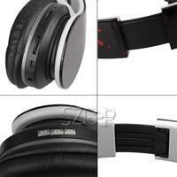 Наушники Bluetooth Headset Mini On-ear Headphone with SD player/FM Over Ear Headphone Stereo Headphone Folding Earphone new color