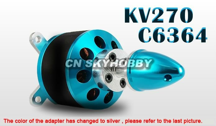 C6364-270kv aircraft Outrunner brushless motor for rc airplane