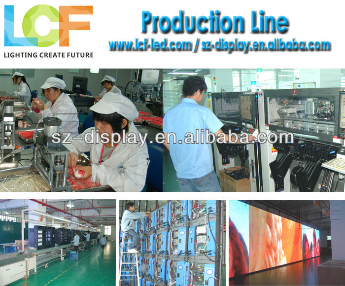 High resolution 10000 dots/sqm full color RGB LED full color outdoor video function LED display from Guangdong
