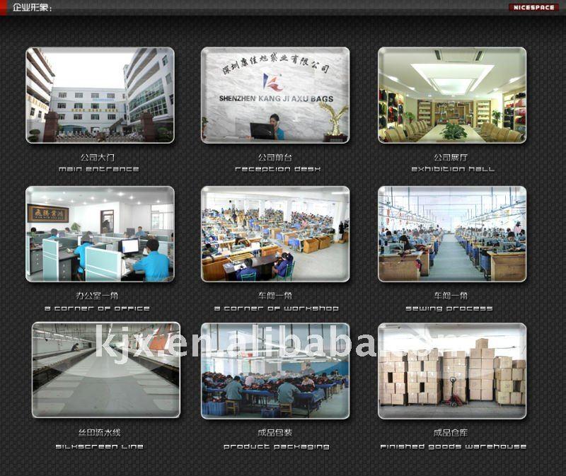 Shenzhen Kangjiaxu Bags factory