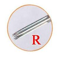 Игла для татуировок Permanent Sterilized Makeup Needles 3R For 500pcs Eyebrow Pen