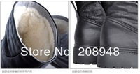 Мужские ботинки winter new fashion men's genuine leather outdoor keep warm wool boots, special offer, BON035