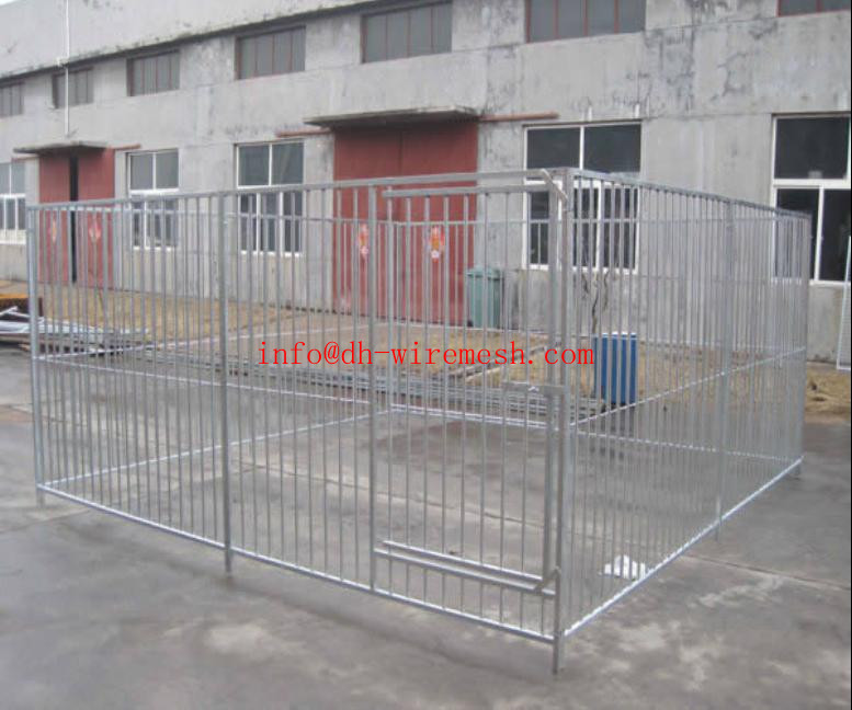 Hot Sale Outdoor Metal Dog Kennel Wholesale(ISO9001)