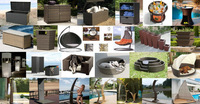 Плетеный диван Factory hot sale popular style good quality wicker rattan furniture outdoor patio sofa SCSF-052