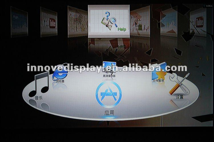 Multimedia lcd led hd home theater projector China factory supply directly low price