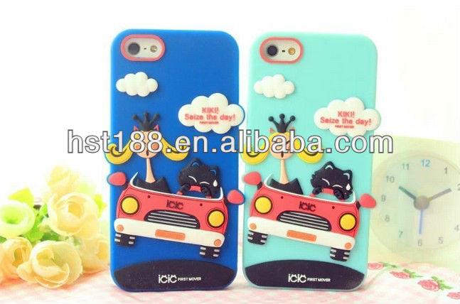 custom silicone phone case factory