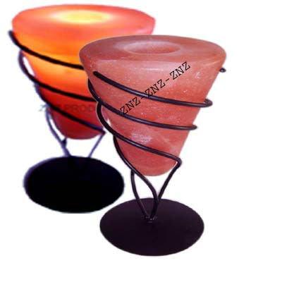 Himalayan Crystal Salt Tealight Candle Holder Wall Sconces - Buy ...
